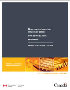 Mesure Du Rendement Des Services De Police Point De Vue Du Public