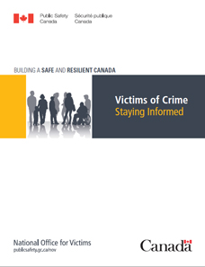 Victims of Crime - Staying Informed